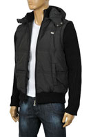 EMPORIO ARMANI Men's Jacket With Removable Sleeves & Hoodie #102