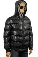 ARMANI JEANS Men's Winter Warm Hooded Jacket #125