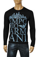 EMPORIO ARMANI Men's Long Sleeve Tee #172