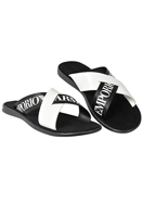 EMPORIO ARMANI Men's Leather Sandals #256