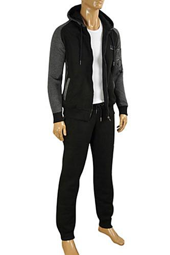 EMPORIO ARMANI Men's Zip Up Hooded Tracksuit #131