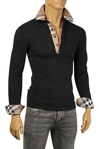 BURBERRY Men's Long Sleeve Shirt #204