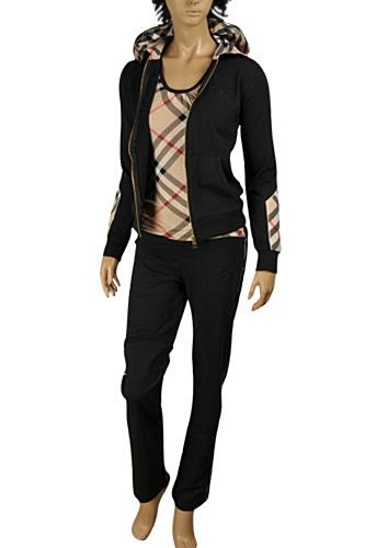 BURBERRY Ladies' Tracksuit In Black #47
