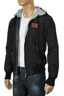 DOLCE & GABBANA Men's Zip Up Hooded Jacket #361