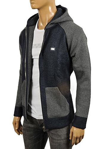 DOLCE & GABBANA Men's Zip Up Warm Hoodie #415
