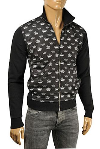 DOLCE & GABBANA Men's Zip Up Cotton Jacket #422