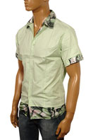 DOLCE & GABBANA Men's Short Sleeve Shirt #214