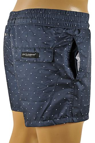 DOLCE & GABBANA Swim Shorts for Men In Navy Blue #76