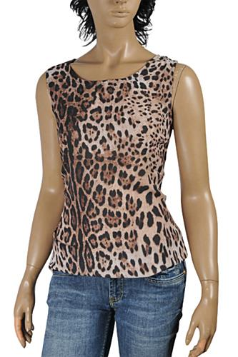 DOLCE & GABBANA Ladies Sleeveless Top #463