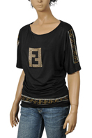 Fendi Ladies Short Sleeve Top #4