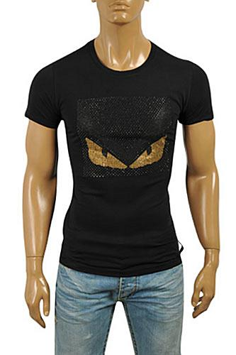 FENDI Men's T-Shirt In Black #15