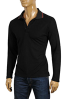 GUCCI Men's Long Sleeve Polo Shirt #282