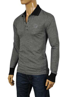 GUCCI Men's Long Sleeve Polo Shirt #279