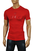 GUCCI Men's Fitted Short Sleeve Tee #97