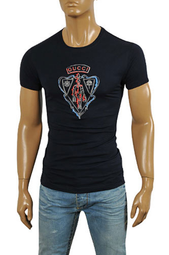 GUCCI Men's Short Sleeve Tee #163