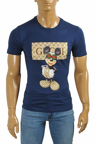 GUCCI cotton T-shirt with print #237