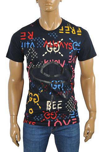 GUCCI cotton T-shirt with print #247