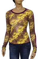VERSACE Ladies Long Sleeve Top #122