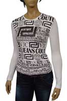 VERSACE Long Sleeve Top #124